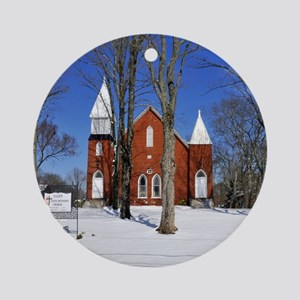 methodist_calendar Round Ornament