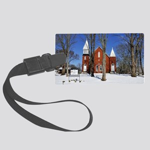 methodist_calendar Large Luggage Tag