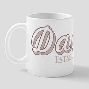 daddy established 2011_dark Mug