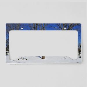 methodist_mini_poster License Plate Holder