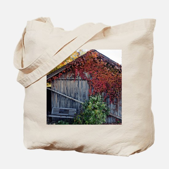 old_barn_calendar Tote Bag