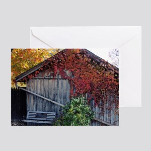 old_barn_calendar Greeting Card
