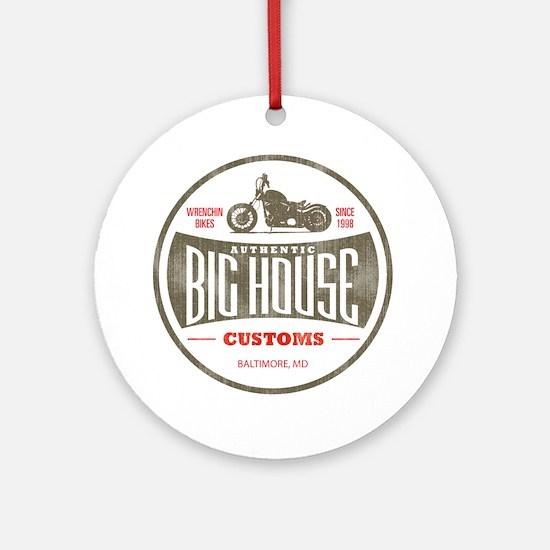 VintageBigHouse Round Ornament