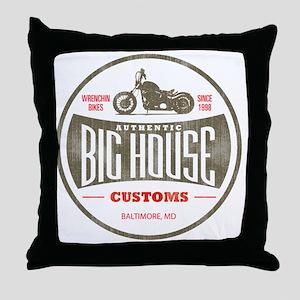 VintageBigHouse Throw Pillow