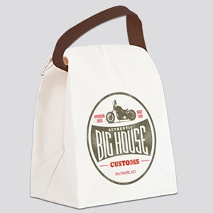 VintageBigHouse Canvas Lunch Bag