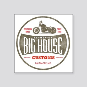 "VintageBigHouse Square Sticker 3"" x 3"""
