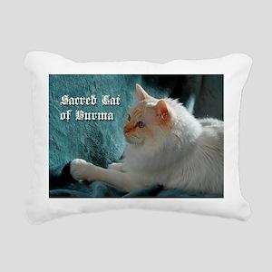 14_10 printti birma Rectangular Canvas Pillow