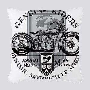 genuine riders Woven Throw Pillow