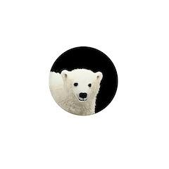 Polar Bear Cub Mini Button (100 pack)