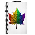 Canada Gay Pride Journal Notebook Souvenir