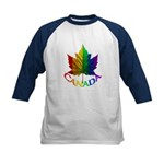 Canada Pride Gifts Kids Baseball Jersey