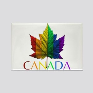 Gay Pride Canada Souvenir Gifts Rectangle Magnet