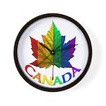 Gay Pride Canada Souvenir Gifts Wall Clock