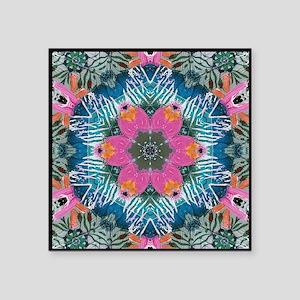 "Magic Carpet Square Sticker 3"" x 3"""
