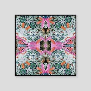 "Magic Carpet 2 Square Sticker 3"" x 3"""