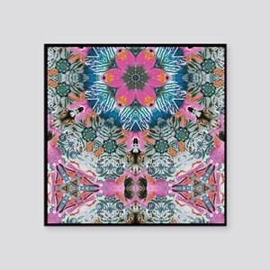 "Magic Carpet 3 Square Sticker 3"" x 3"""