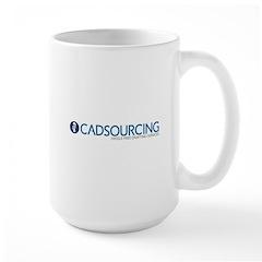Cadsourcing logo Mugs