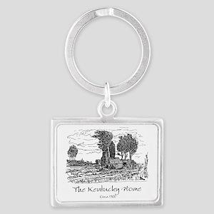 The Kentucky Home Landscape Keychain