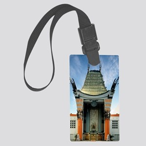 Graumans Chinese Theatre by Caro Large Luggage Tag