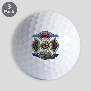 Fire Department Chrest Golf Balls
