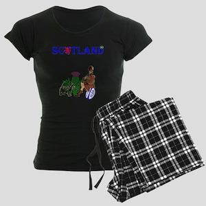 Scottish Rugby Women's Dark Pajamas