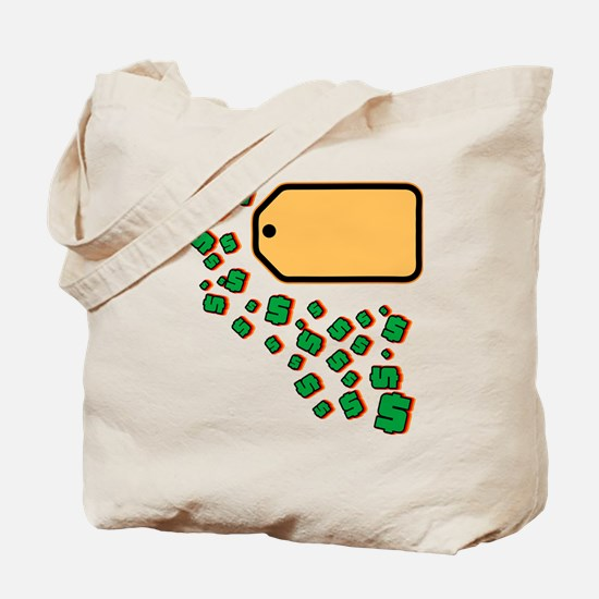 Price Tag Tote Bag