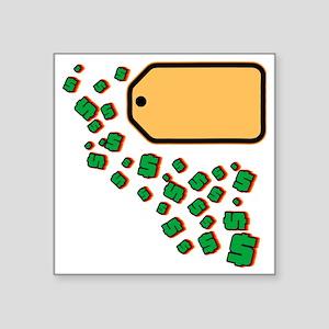 """Price Tag Square Sticker 3"""" x 3"""""""
