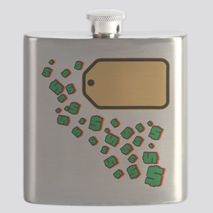 Price Tag Flask