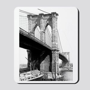 Brooklyn Bridge 1896 Mousepad