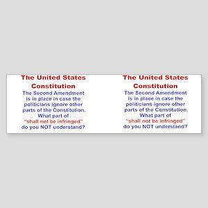 THE UNITED STATES CONSTITUTION SE Sticker (Bumper)