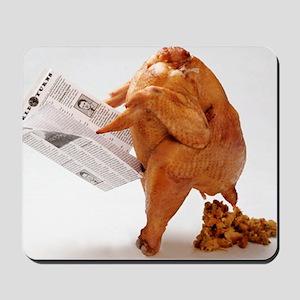 turky-poop Mousepad