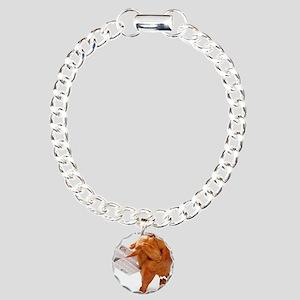 turky-poop Charm Bracelet, One Charm