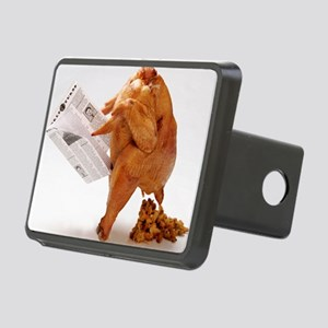 turky-poop Rectangular Hitch Cover