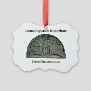 Genealogists  Historians Picture Ornament