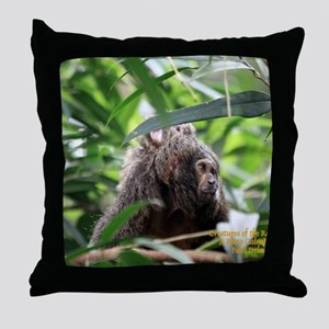 Cover Creatures of the Rainforest Throw Pillow