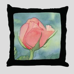 roseFULL Throw Pillow