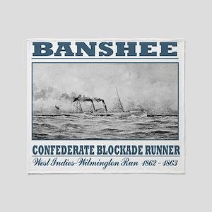 BR Banshee Throw Blanket