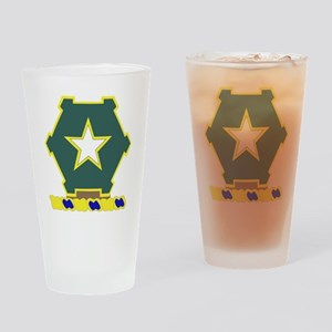 36TH INFANTRY REGIMENT Drinking Glass