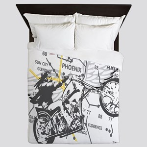 born to be wild a Queen Duvet