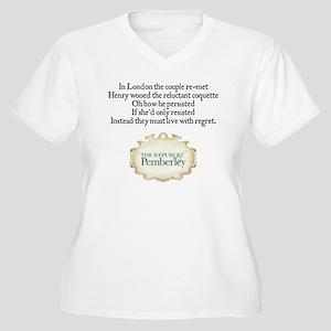 LIMERICK_MP_2010_ Women's Plus Size V-Neck T-Shirt