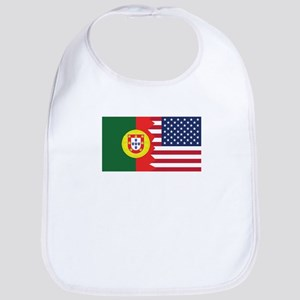 Made In America With Portuguese Parts Baby Bib