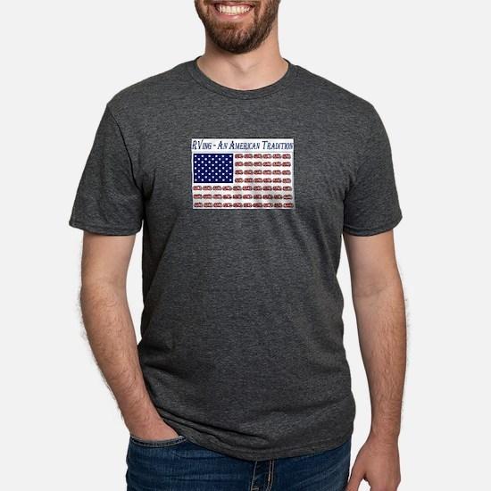 RVing American Flag T-Shirt