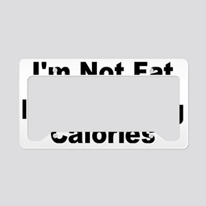 NOT FAT License Plate Holder