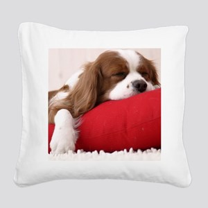 Spaniel pillow Square Canvas Pillow