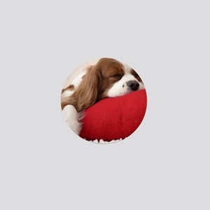 Spaniel pillow Mini Button