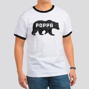 Poppa Bear Ringer T