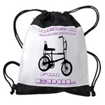 Chopper Bicycle Drawstring Bag