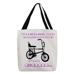 Chopper Bicycle Polyester Tote Bag