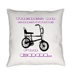 Chopper Bicycle Everyday Pillow