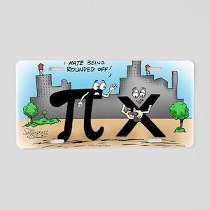 Pi_59 Twitter (10x10 Color) Aluminum License Plate